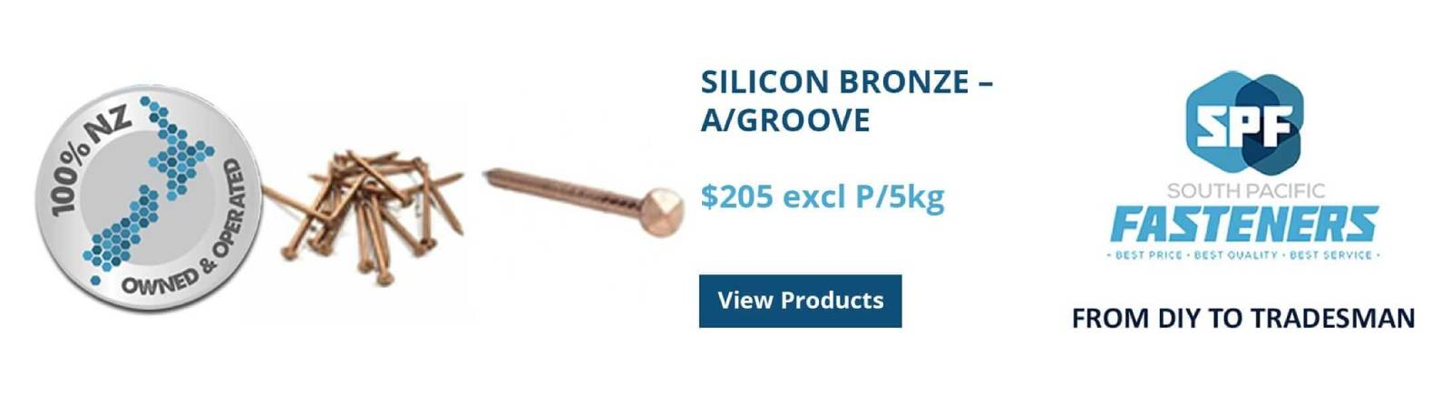 Silicon Bronze A-Groove Special - SP Fasteners