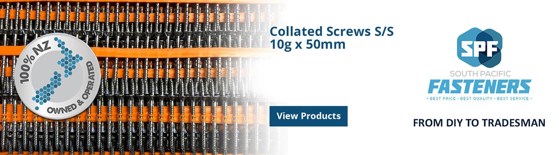 Collated Screws - SP Fasteners